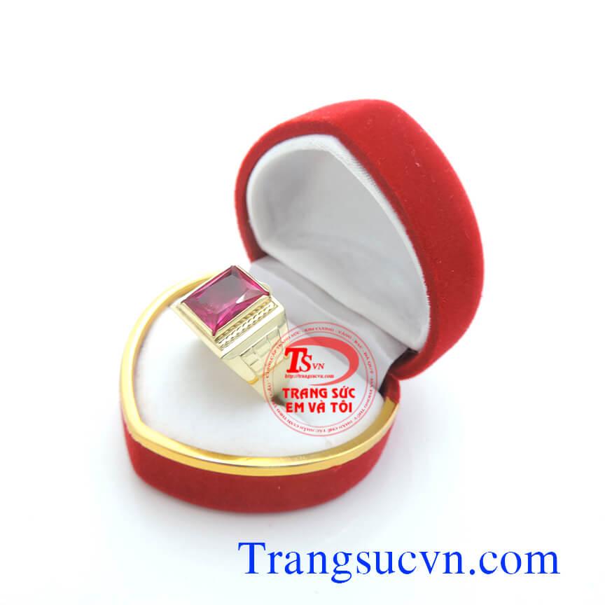 Nhẫn nam vàng tây, nhẫn vàng nam đẹp, nhẫn nam chuẩn chất lượng, nhẫn giá rẻ